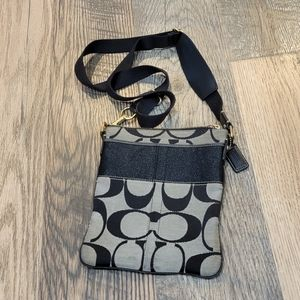 Coach slim file crossbody purse